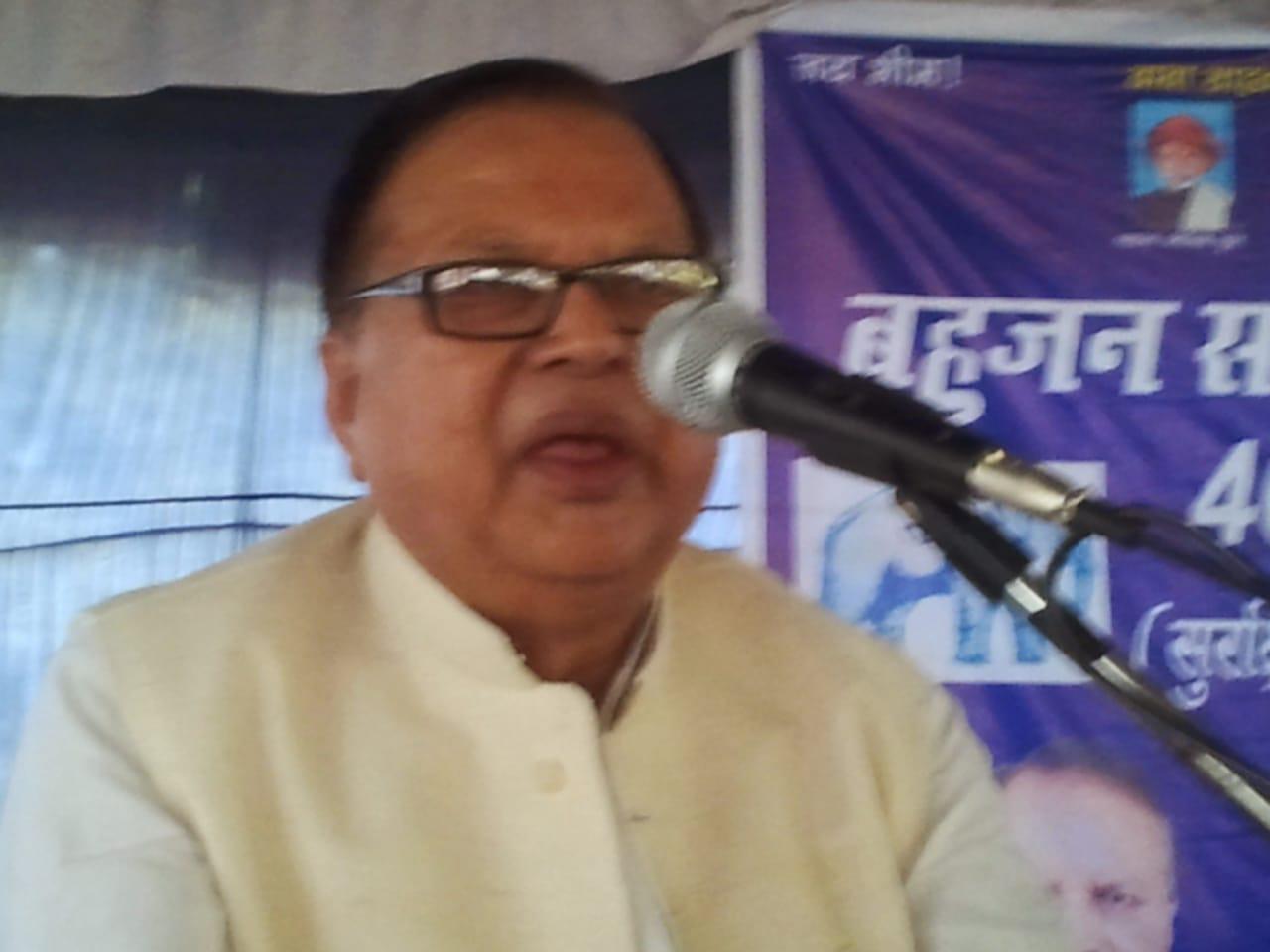 ब्रेकिंग-सेवानिवृत्त डीआईजी व पूर्व विधायक सीएम प्रसाद का निधन